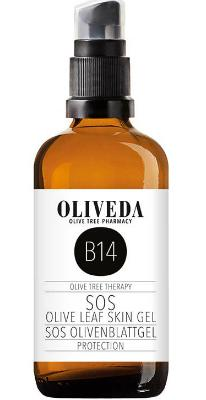 B14 SOS Olivenblatt Gel Protection, 100 ml