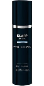Wash - Shave 2 in 1 Foam Gel, 100ml