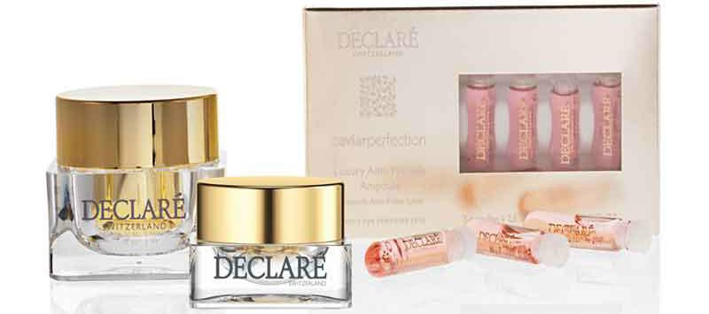 Set Caviar Perfection Anti Wrinkle Creme + Eye + gratis Amp