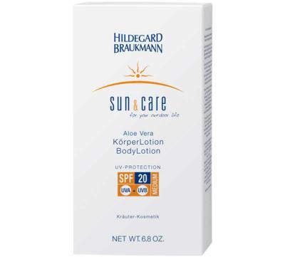 Sun & Care Aloe Vera Körperlotion LSF 20, 200ml