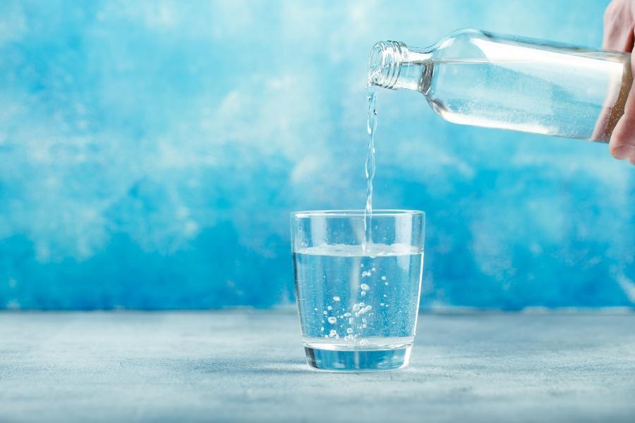 wasser-glasflasche