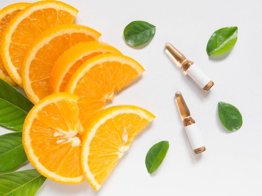 Hochkonzentrierte Ampullen Vitamin C
