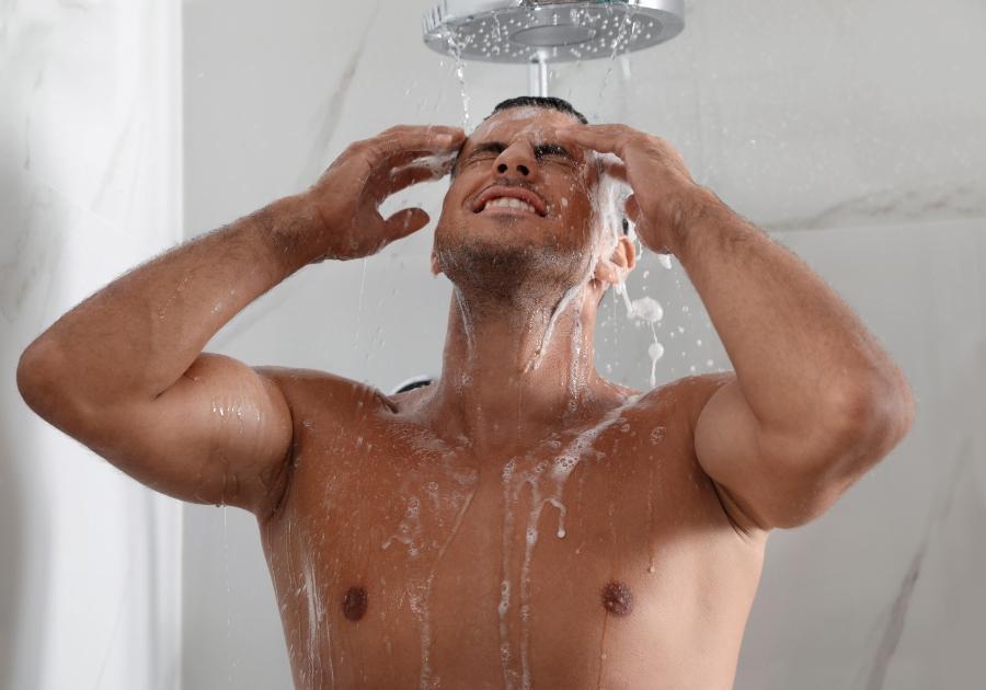 So Duschen Sie richtig maennerpflege