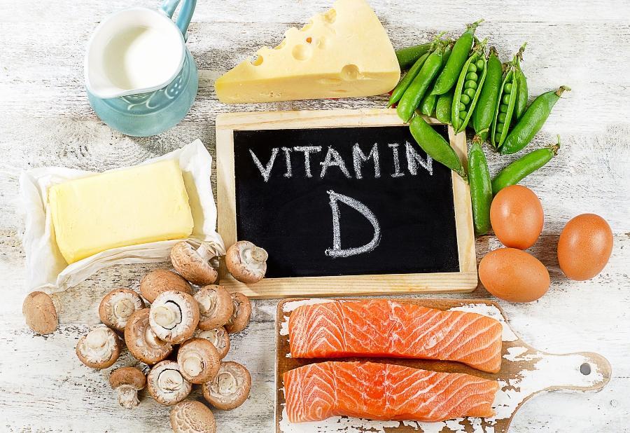 Nahrungsmittel mit viel Vitamin D