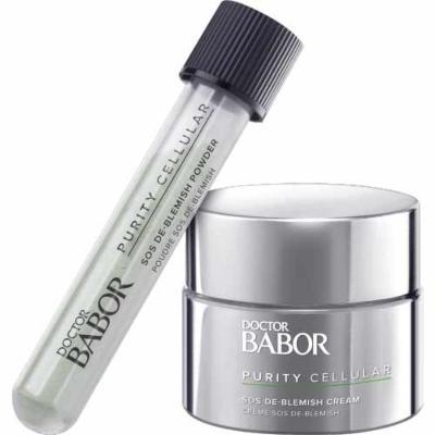 babor-blemish-kit-powder-and-cream-59ml unreine-haut-durch-stress