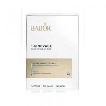 Skinovage Balancing Refreshing Eye Pads, 5x2 Stück