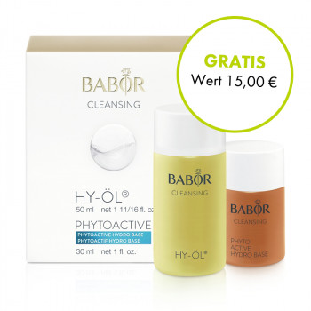 BABOR, Cleansing Hy-Öl+Phytoactive Hydro Base, 50ml+30ml