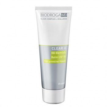 Clear+ BB Blemish Balm LSF 15, 01 sand, 75ml