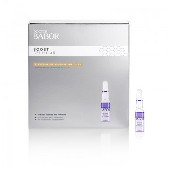 Doctor BABOR Stress Relief Bi Phase Ampoules, 14x1ml
