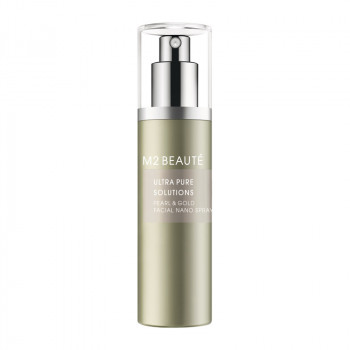 M2 Beaute Ultra Pure Solutions Pearl und Gold Facial Nano