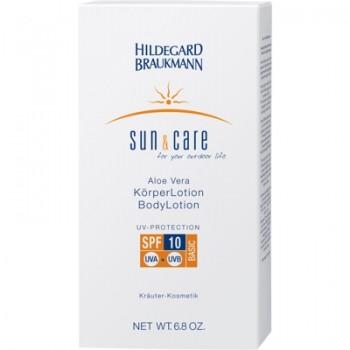 Sun & Care Aloe Vera Körperlotion LSF 10, 200ml