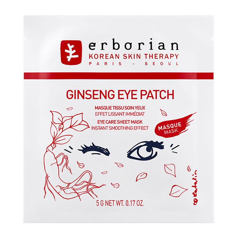 erborian Boost, Ginseng Eye Shot Mask, 5g