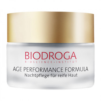 BIODROGA   Age Performance Formula Aufbaupflege Nacht, 50ml