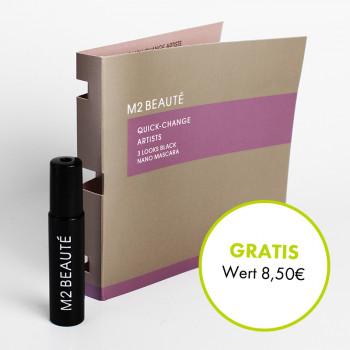 M2 Beaute, 3 Looks Black Nano Mascara, 1,5ml