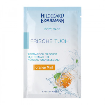 Orange Mint Frische Tücher 10er