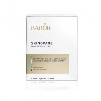 Skinovage Balancing Bio-Cellulose Mask, 5 Stück