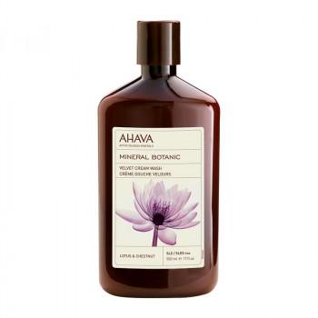 Velvet Cream Wash Lotusblüte und Kastanie, 500 ml