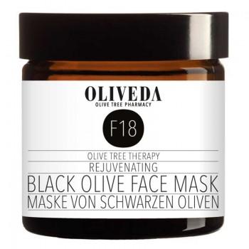 F18 Maske schwarze Oliven - Rejuvenating, 60ml