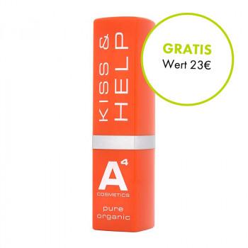 A4 Cosmetics, Kiss and Help Lipbalsam, 4g