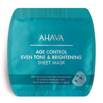 Age Control Even Tone and Brightening Sheet Mask, 1 Stück