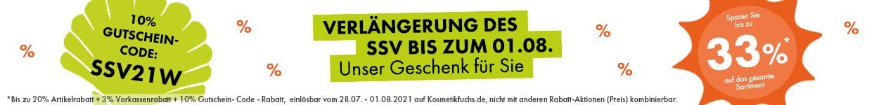 Verlängerung: Sommer-Schluss-Verkauf!