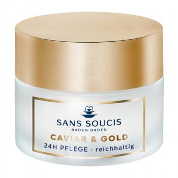 Caviar und Gold, 24h Pflege reichhaltig, 50ml