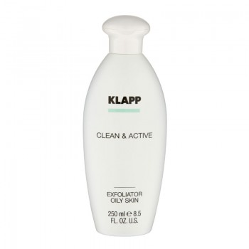 Clean and Active Exfoliator Oily Skin, 250ml