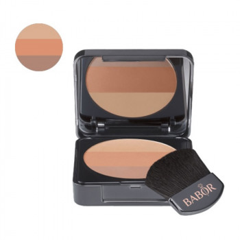 AGE ID Make up Tri-Color Blush 01 bronze