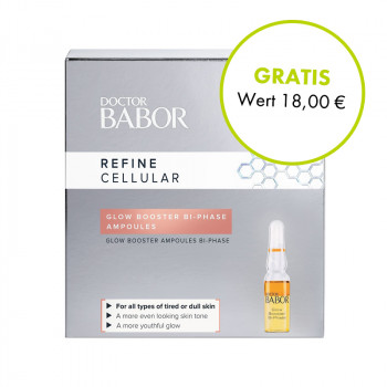 Babor, Refine Cellular Glow Booster Bi-Phase Ampoules, 3x1ml