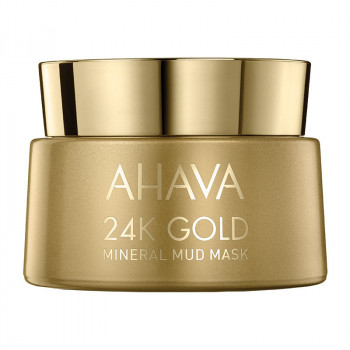 24K Gold Mineral Mud Mask, 50 ml