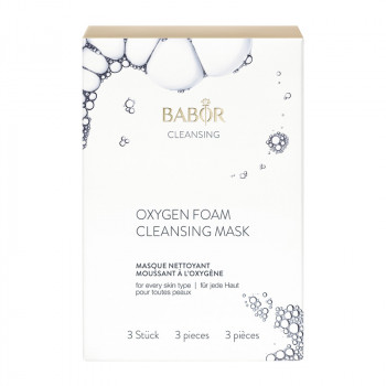 Oxygen Foam Cleansing Mask, 3er Set