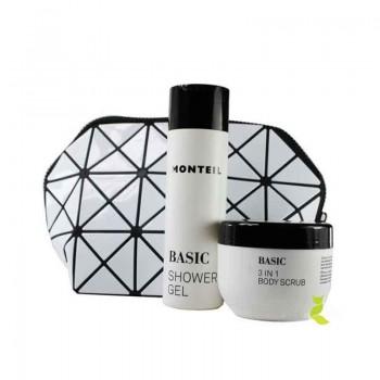 Basic Shower Gel und 3 in 1 Body Scrub