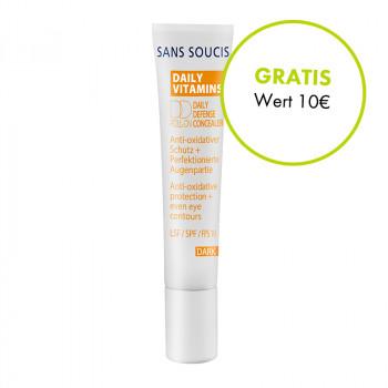 Sans Soucis, Daily Defense Cream dark LSF 25, 15ml
