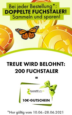 Doppelte Fuchstaler bis 28.06.!