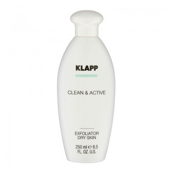Clean and Active Exfoliator Dry Skin, 250ml
