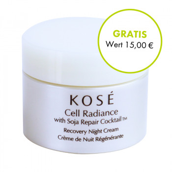 Kose, Cell Radiance Recovery Night Cream, 6ml