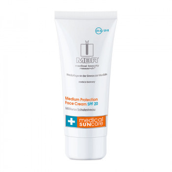 Medium Protection Face Cream SPF 20, 50ml