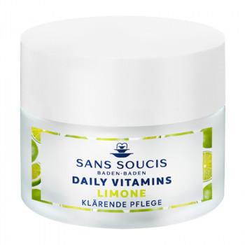 Daily Vitamins, Limone klärende Pflege, 50ml