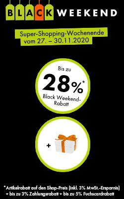 Bis zu 28%* Rabatt!