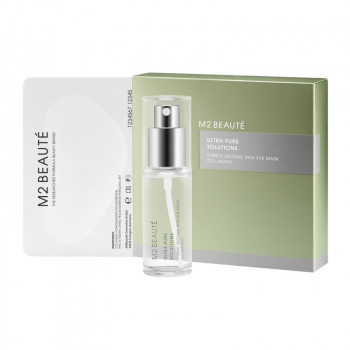M2 Beaute Ultra Pure Solutions Hybrid Second Eye Mask