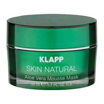 Skin Natural Aloe Vera Mousse Mask, 50ml