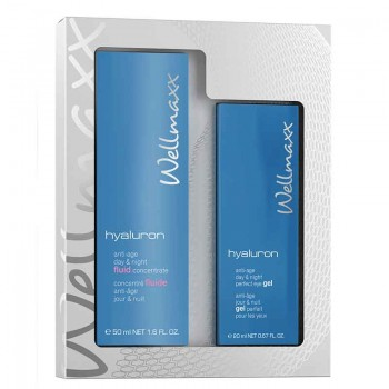 hyaluron anti-age day & night fluid concentrate + perfect ey